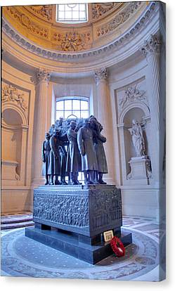 The Tombs At Les Invalides - Paris France - 011316 Canvas Print by DC Photographer