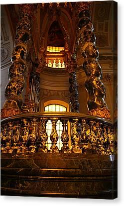 The Tombs At Les Invalides - Paris France - 011321 Canvas Print