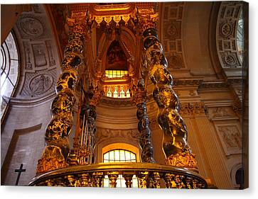 The Tombs At Les Invalides - Paris France - 011323 Canvas Print by DC Photographer
