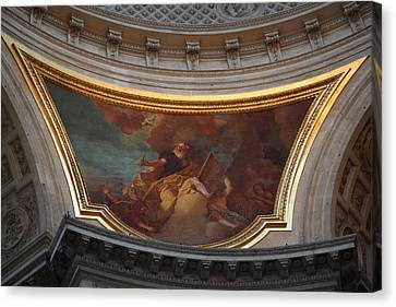 The Tombs At Les Invalides - Paris France - 011331 Canvas Print by DC Photographer