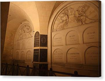 The Tombs At Les Invalides - Paris France - 011335 Canvas Print by DC Photographer