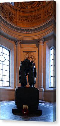 The Tombs At Les Invalides - Paris France - 01134 Canvas Print by DC Photographer