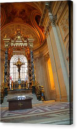 The Tombs At Les Invalides - Paris France - 01136 Canvas Print by DC Photographer