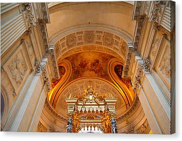 Historical Canvas Print - The Tombs At Les Invalides - Paris France - 01137 by DC Photographer