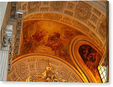 The Tombs At Les Invalides - Paris France - 01139 Canvas Print by DC Photographer