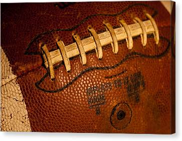 The Tool Of The Gridiron Canvas Print by David Patterson