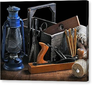 Canvas Print featuring the photograph The Toolbox by Krasimir Tolev