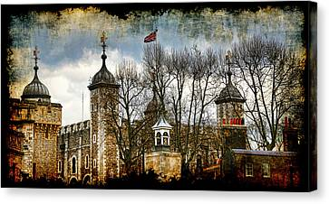 The Tower Of London Canvas Print