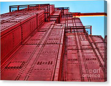 The Tower On Golden Gate By Diana Sainz Canvas Print