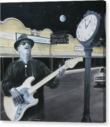 The Town Crier Canvas Print by Patricia Ann Dees