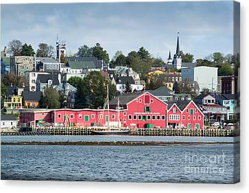 The Town Of Lunenburg Canvas Print