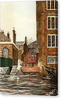 The Town Of Ramsgate Wapping London Canvas Print