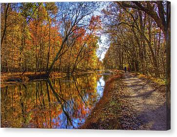 The Towpath Canvas Print