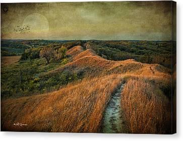 The Trailhead Canvas Print by Jeff Swanson