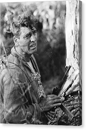 The Train, Burt Lancaster, 1964 Canvas Print by Everett