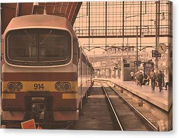 The Train Kept A Rollin Canvas Print