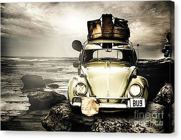 The Travel Bug Canvas Print by Jorgo Photography - Wall Art Gallery