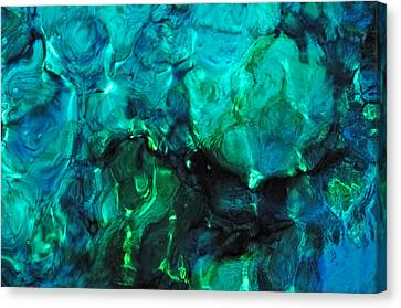 The Treasure Of The Ocean. Tropical Water Canvas Print