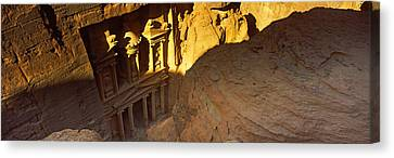 The Treasury At Petra, Wadi Musa, Jordan Canvas Print by Panoramic Images