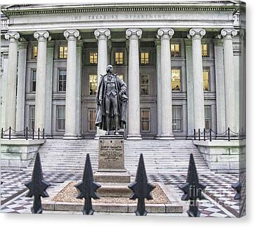 The Treasury Department 1999 Canvas Print by Jack Schultz