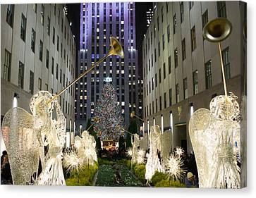 The Tree At Rockefeller Center Canvas Print