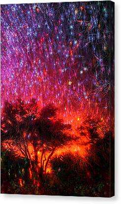The Tree On The Edge Of Forever Canvas Print by Michael Filippoff
