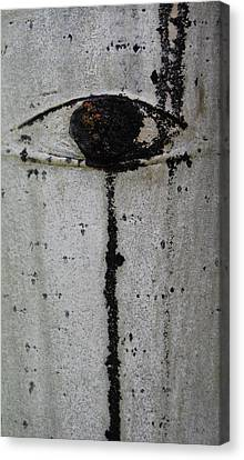The Trees Have Eyes Canvas Print by Jani Freimann