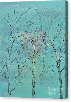 The Trees Speak To Me In Whispers Canvas Print