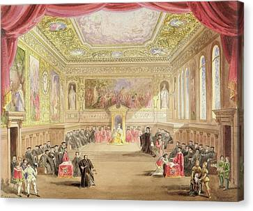 The Trial, Act Iv, Scene I From Charles Canvas Print
