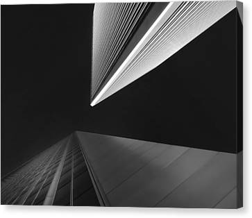 Canvas Print featuring the photograph The Tricorn Towers by Michael Hope