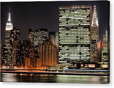 Sky Line Canvas Print - The Trifecta by JC Findley