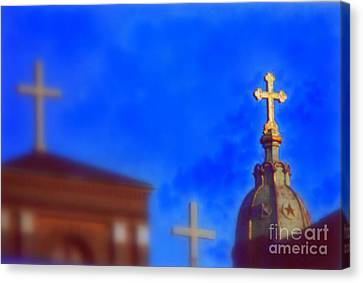 Canvas Print featuring the photograph The Trinity New Orleans Irish Channel by Michael Hoard