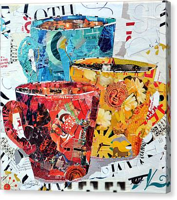 The Trio Canvas Print by Suzy Pal Powell