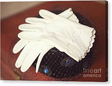 The Trip-the Gloves Canvas Print by Kay Pickens