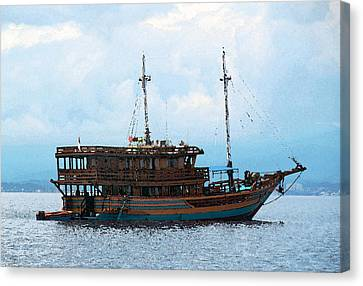 The Trip To Bunaken Canvas Print by Sergey Lukashin