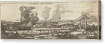 The Trip To Chatham, 1667, Anonymous, Romeyn De Hooghe Canvas Print by Anonymous And Romeyn De Hooghe