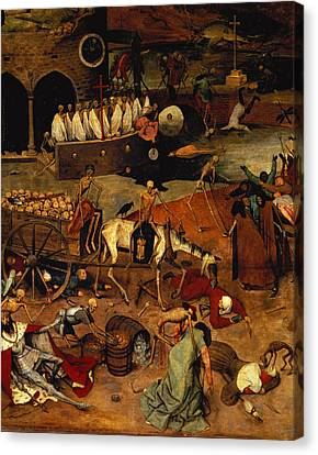 The Triumph Of Death Canvas Print by Pieter the Elder Bruegel