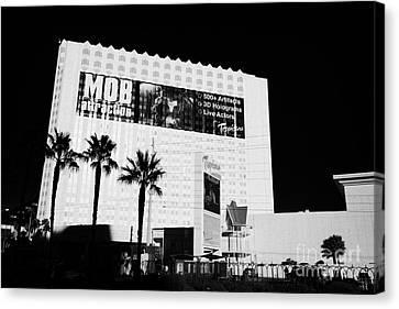 the tropicana hotel and casino Las Vegas Nevada USA Canvas Print