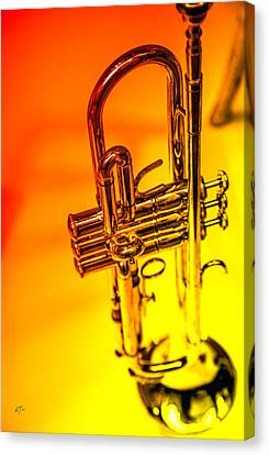 The Trumpet Canvas Print by Karol Livote