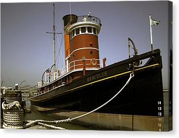 The Tug Boat Hercules Canvas Print