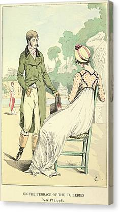 Tuileries Canvas Print - The Tuileries by British Library