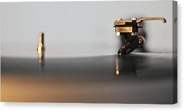 The Turntable Canvas Print by Andrea Di Bello