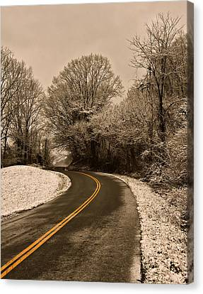 The Twisted Road Canvas Print