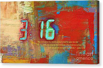 The Ultimate Sacrifice Canvas Print by Robert ONeil