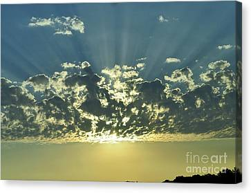 The Ultimate Sunrise Canvas Print