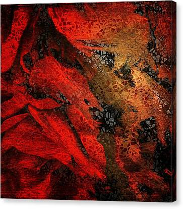 The Underlying Net Canvas Print by Gun Legler