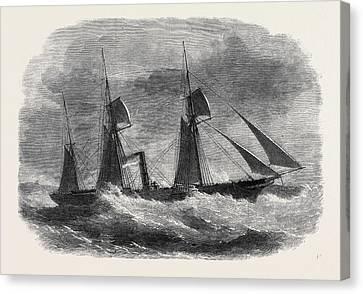 The Union Steamship Companys Cape Mail Steamer Briton Canvas Print by English School