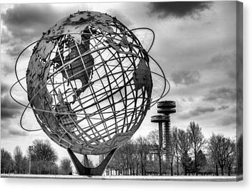 Sphere Canvas Print - The Unisphere by JC Findley