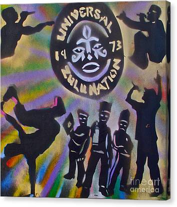 The Universal Zulu Nation Canvas Print by Tony B Conscious