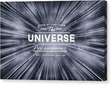 The Universe Crew Canvas Print by Philipp Rietz